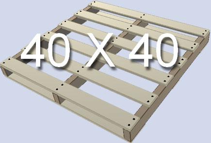 Standard Pallet Size 40X40
