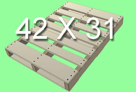 Standard Pallet Size 42X31