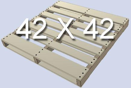 Standard Pallet Size 42X42