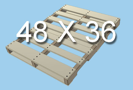 Standard Pallet Size 48X36