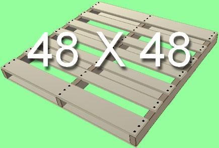 Standard Pallet Size 48X48
